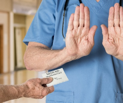 care provider says no to Medicaid